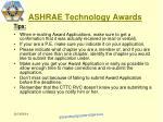 ashrae technology awards18