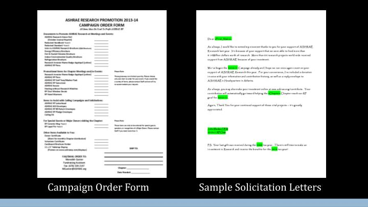 Campaign Order Form