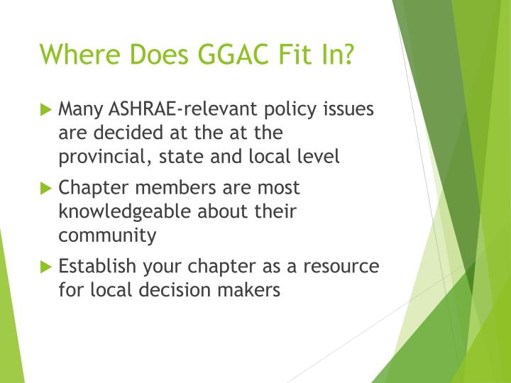 Where Does GGAC Fit In?