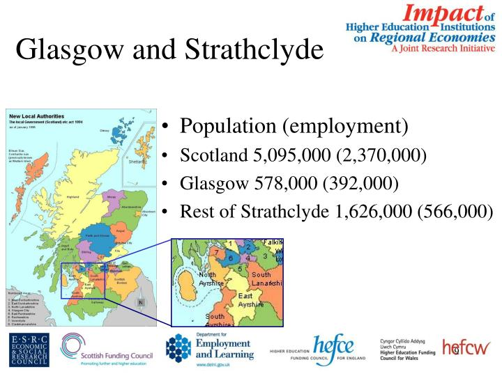 Glasgow and Strathclyde