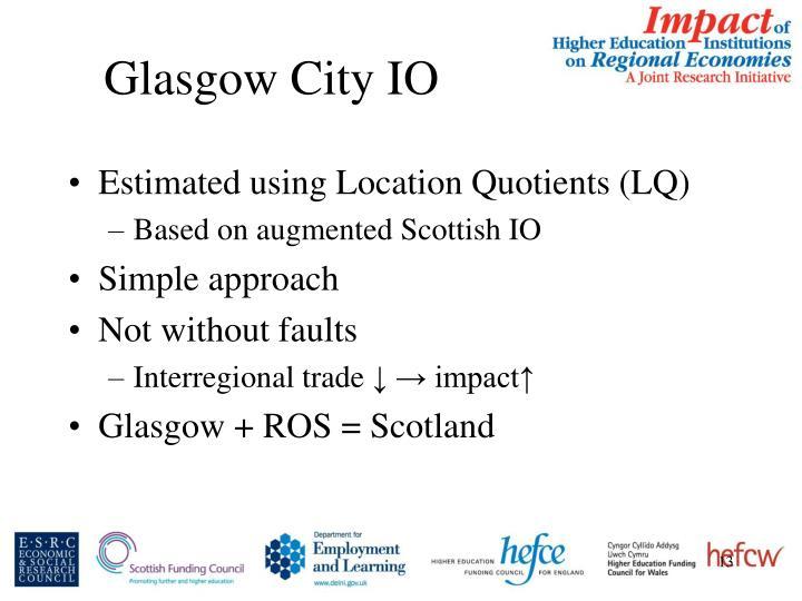 Glasgow City IO