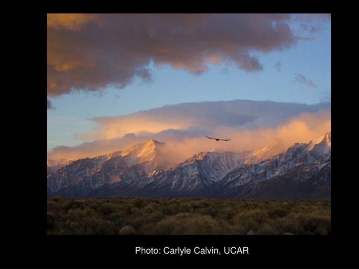 Photo: Carlyle Calvin, UCAR