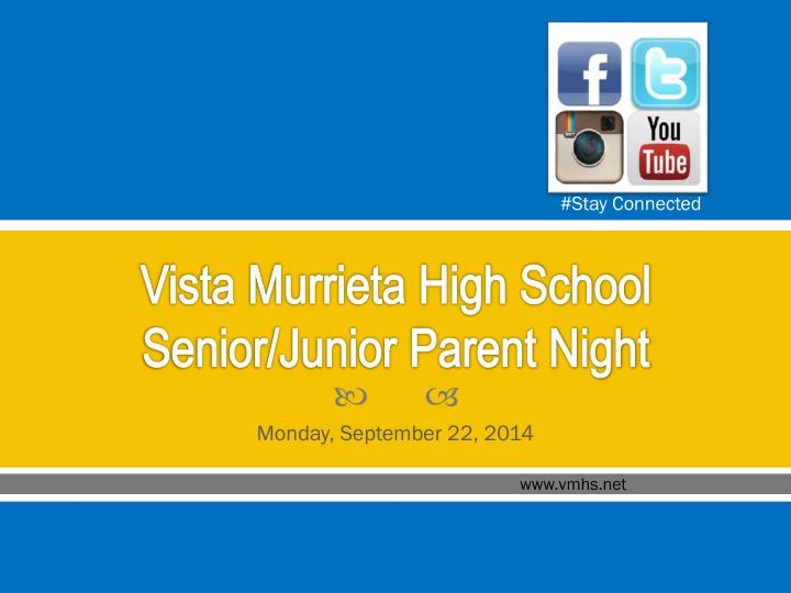 vista murrieta high school senior junior parent night n.