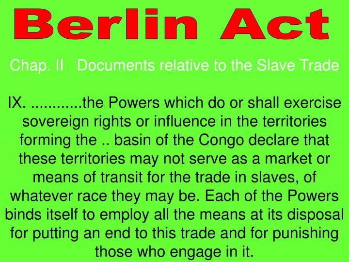 Berlin Act