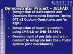 demonstrator project jelfad1