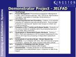 demonstrator project jelfad3
