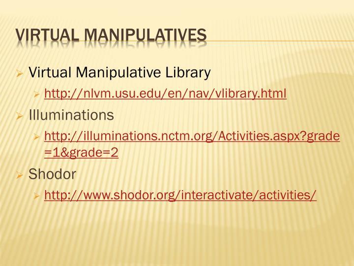 Virtual Manipulative Library