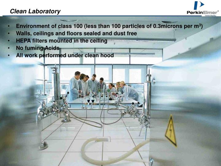 Clean Laboratory