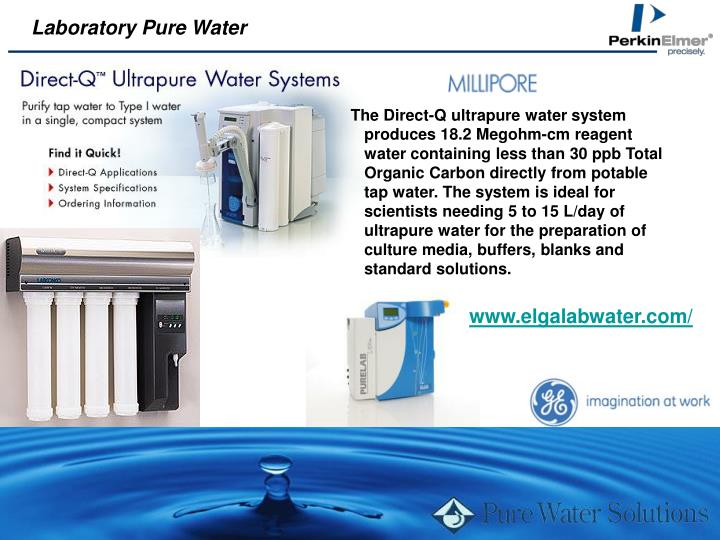 Laboratory Pure Water