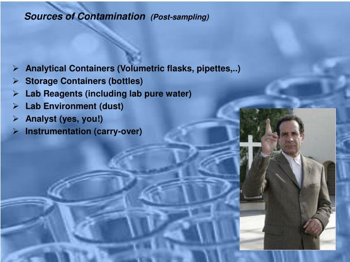 Sources of Contamination