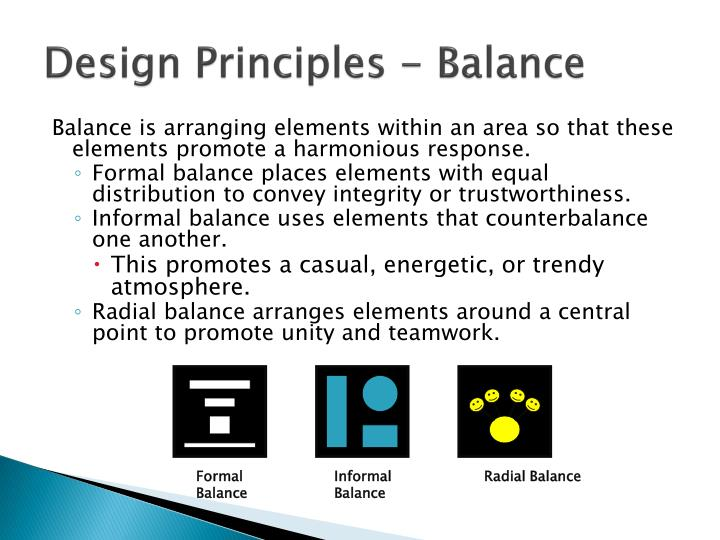 Formal Balance