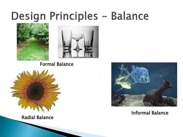 Design Principles - Balance
