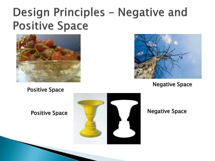 Design Principles – Negative and Positive Space