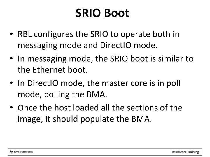 SRIO Boot