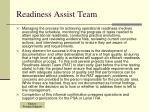 readiness assist team