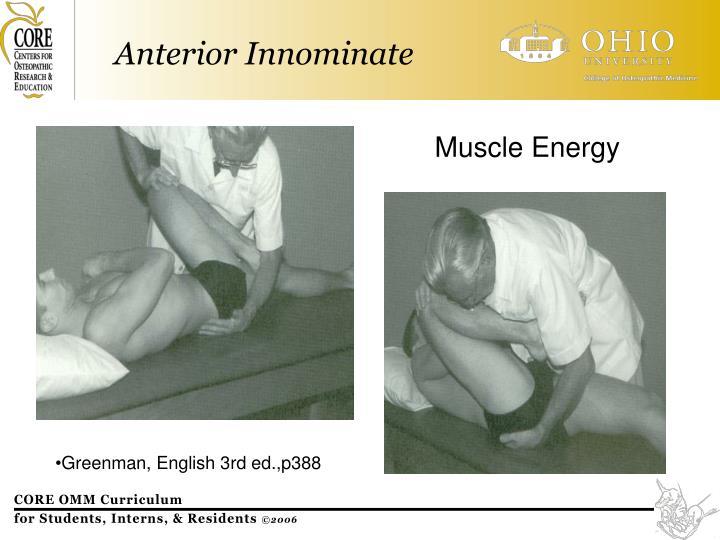 Muscle Energy