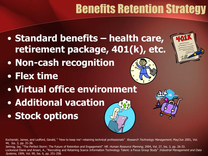 Benefits Retention Strategy
