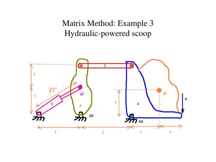 Matrix Method: Example 3