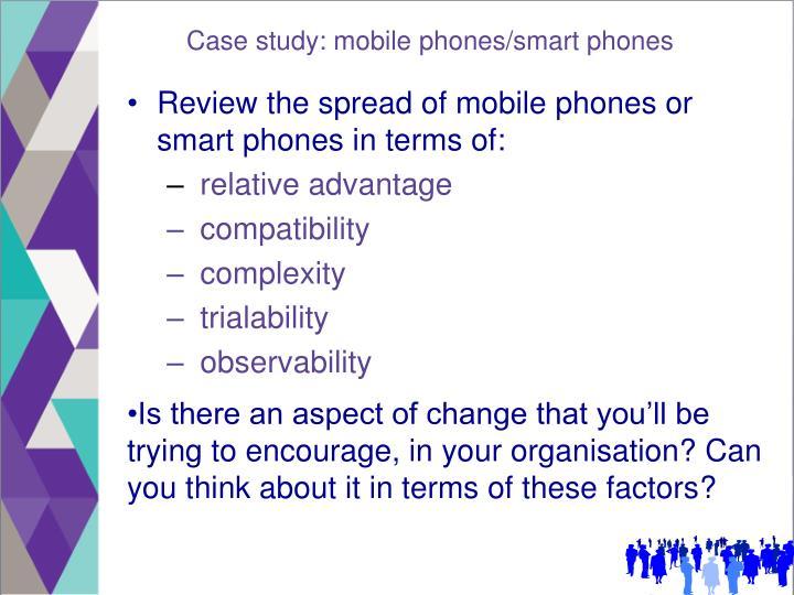 Case study: mobile