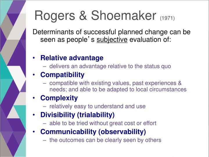 Rogers & Shoemaker