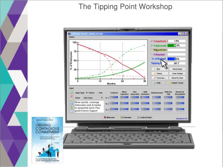 The Tipping Point Workshop