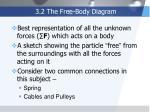 3 2 the free body diagram