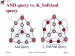 and query vs k softand query