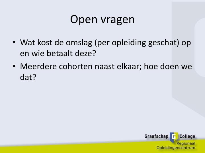 Open vragen