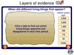 layers of evidence
