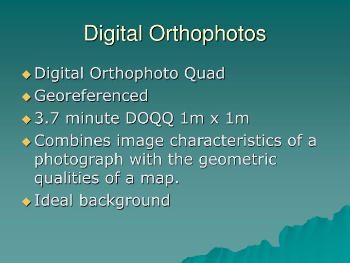 Digital Orthophotos