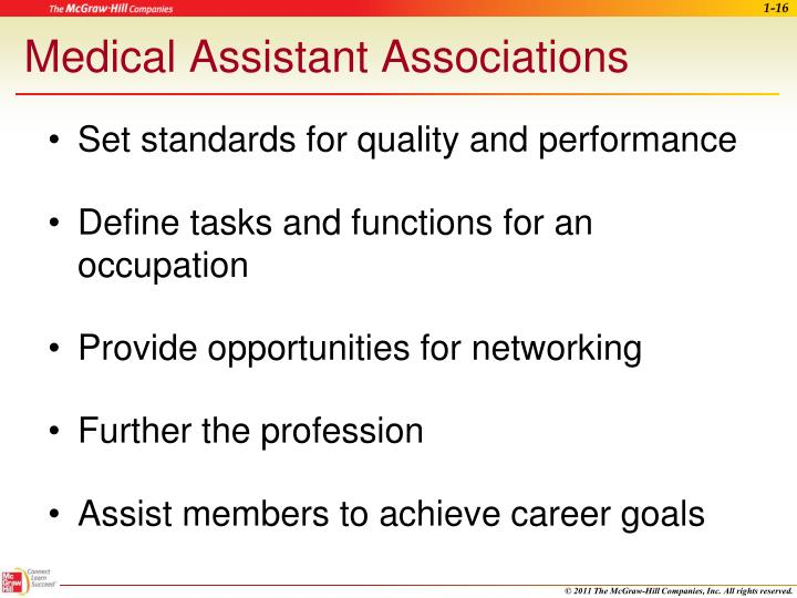 Medical Assistant Associations