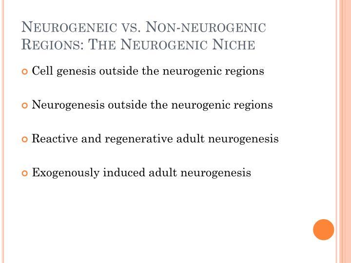 Neurogeneic