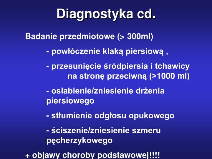 Diagnostyka cd.