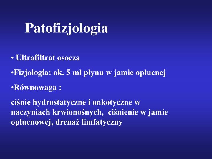 Patofizjologia