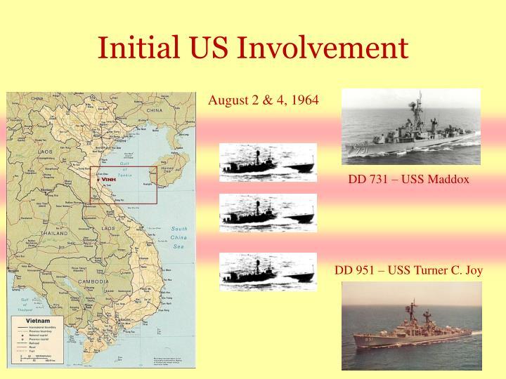 Initial US Involvement