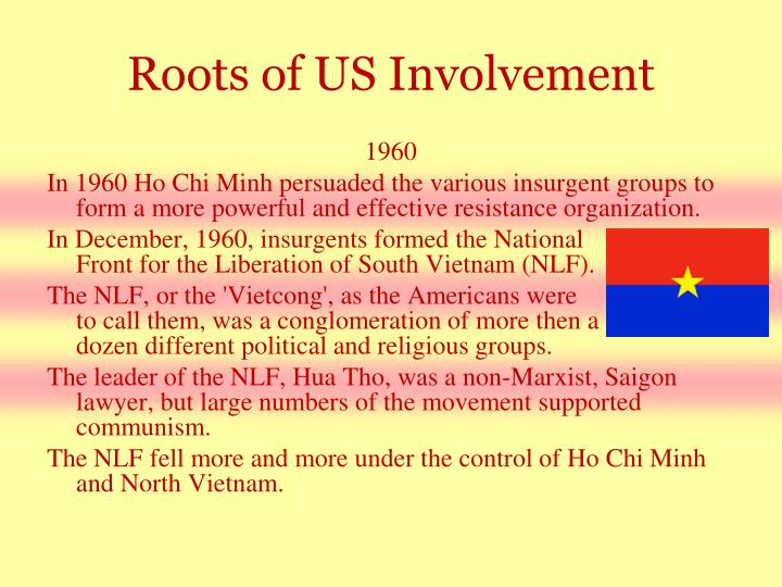 Roots of US Involvement