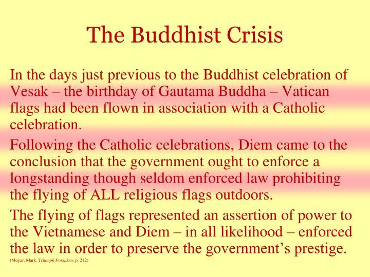 The Buddhist Crisis