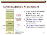 partition memory management1
