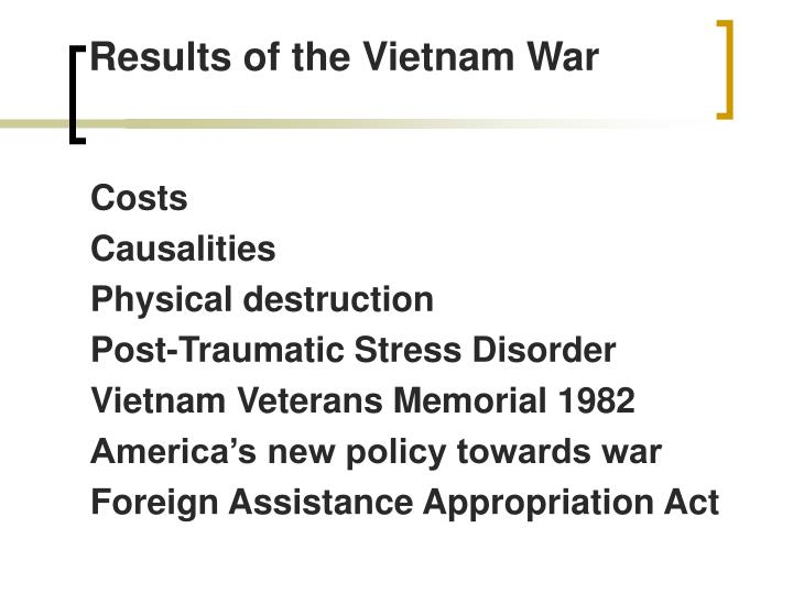 Results of the Vietnam War