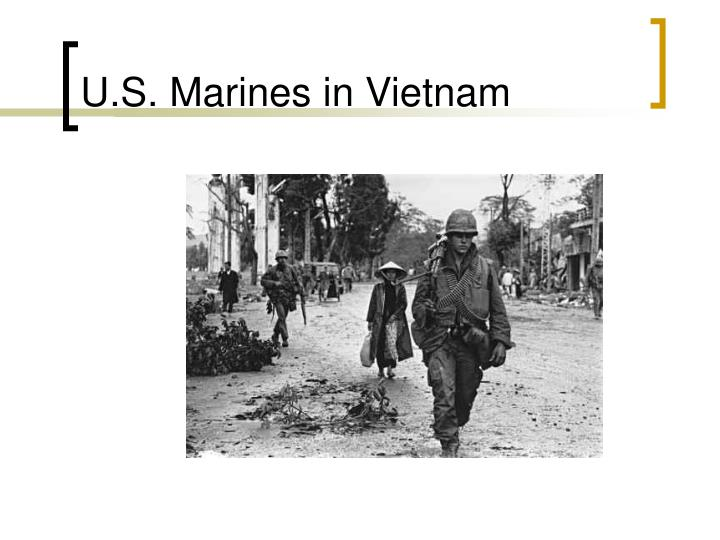 U.S. Marines in Vietnam