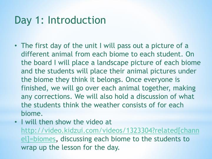 Day 1: Introduction