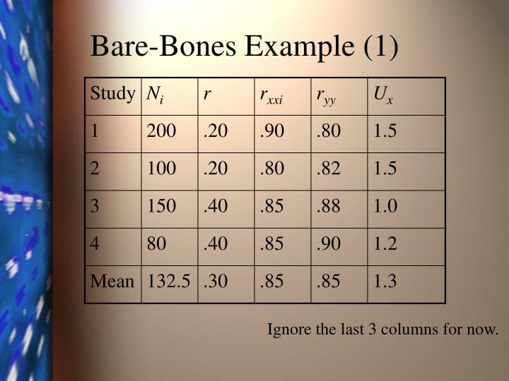 Bare-Bones Example (1)