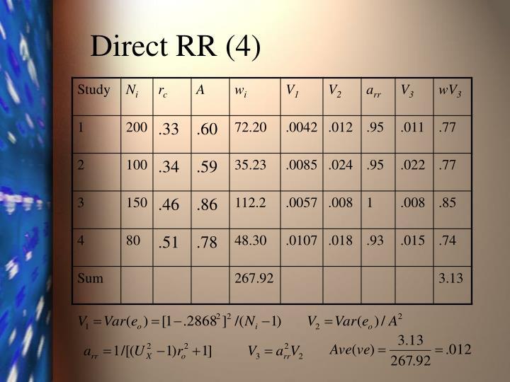 Direct RR (4)