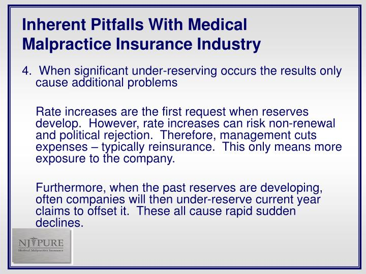 Inherent Pitfalls With Medical