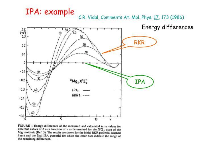 IPA: example