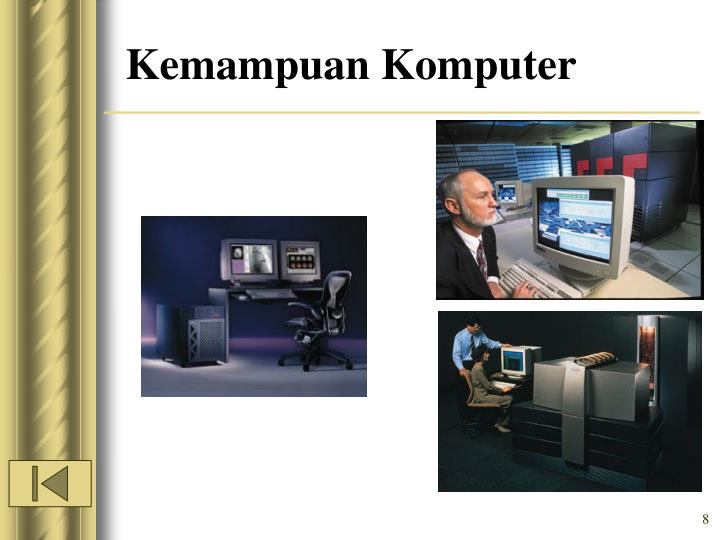 Kemampuan Komputer