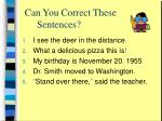 can you correct these sentences1