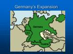 germany s expansion