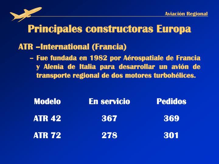 ATR –International (Francia)