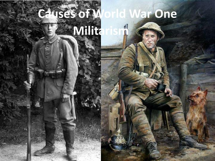 causes of world war one n.